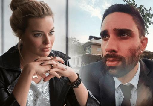 La historia de Margot Robbie y un conductor de Uber que nunca olvidará devirales portada